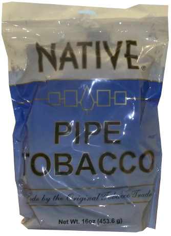 NATIVE PIPE TOBACCO - LIGHT 16OZ BAG