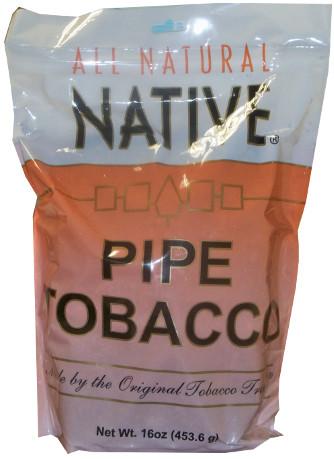 NATIVE PIPE TOBACCO - NATURAL 16OZ BAG