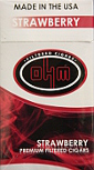 Ohm Filtered Cigars - Strawberry 100 Box