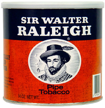 SIR WALTER RALEIGH PIPE TOBACCO 14OZ CAN