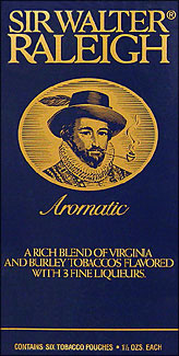 SIR WALTER RALEIGH AROMATIC PIPE TOBACCO 1.5 OZ 6CT. BOX