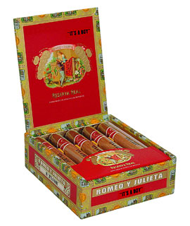 "Romeo y Julieta Reserva Real ""It's a Boy!"" Medium Brown"