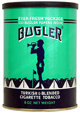 BUGLER TOBACCO 6OZ CAN