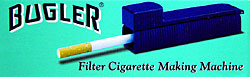 BUGLER FILTER CIGARETTE MAKING MACHINE