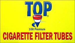 TOP CIGARETTE FILTER TUBES - 100CT