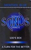 Sands Menthol Blue Light 100 Box