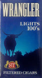 Wrangler Filtered Little Cigars - Light 100 Box