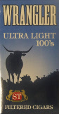 Wrangler Filtered Little Cigars - Ultra Light 100 Box