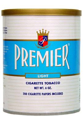 Premier Light Cigarette Tobacco 6oz Can Smokes Spirits Com