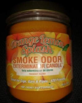 SMOKE ODOR EXTERMINATOR CANDLE 13OZ - ORANGE LEMON SPLASH