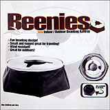 Beanbag Ashtray - Black with Stainless Steel Top