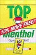 TOP TOBACCO, MENTHOL 12CT BOX