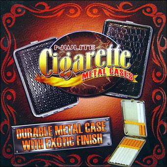 NULITE METAL CIGARETTE CASE - KING SIZE